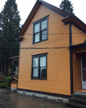 123 Cushing with a new paint job!