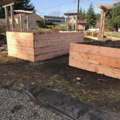 New Raised Garden Beds at the West Central Park